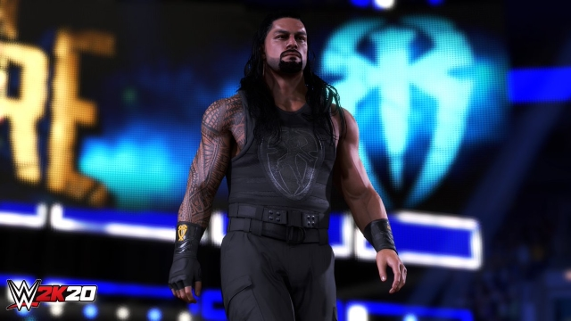 wwe 2k20 roman reigns tower