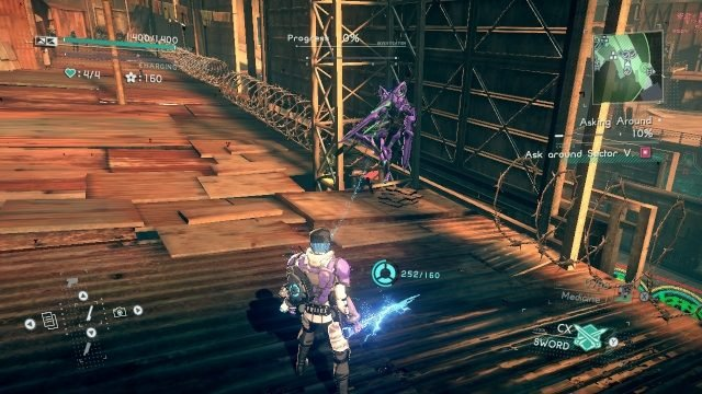 Astral Chain cat location 12.3.1