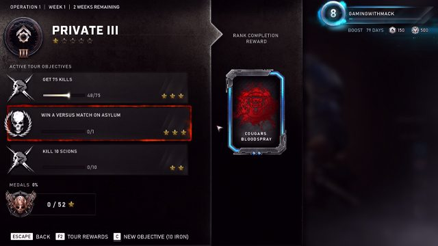 Gears 5 Ranking System