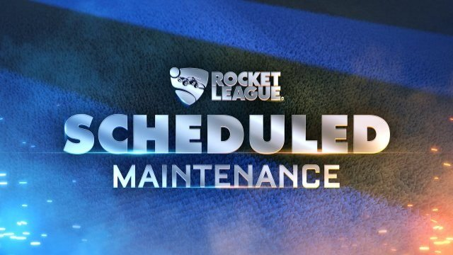 Rocket League servers down maintenance