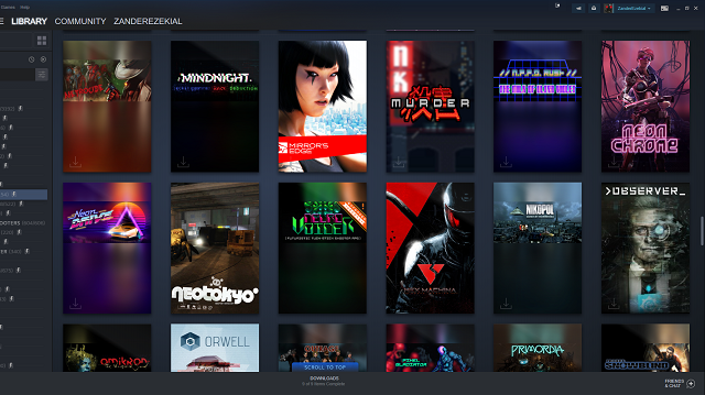 Steam Library Update Dynamic Collections