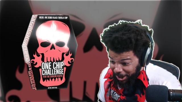 Trihex Carolina Reaper One Chip Challenge
