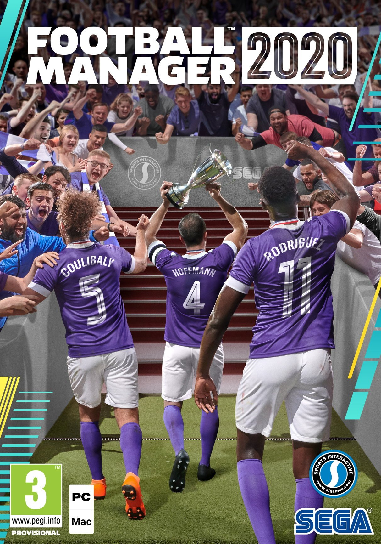 Box art - Football Manager 2020