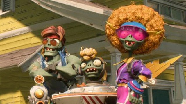 Is Plants vs. Zombies: Battle for Neighborville Single-Player zombies