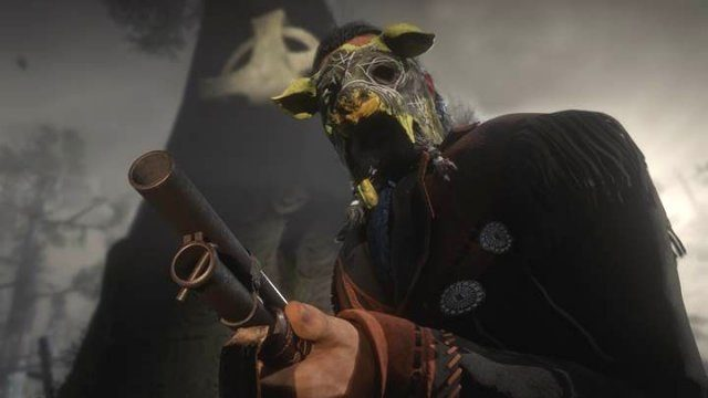 Red Dead Online Halloween Mask Unlocks Swine Mask Madam Nazar Location