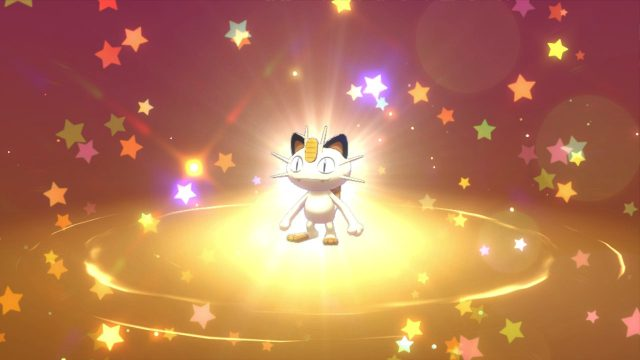 Gigantamax Meowth pokemon sword and shield