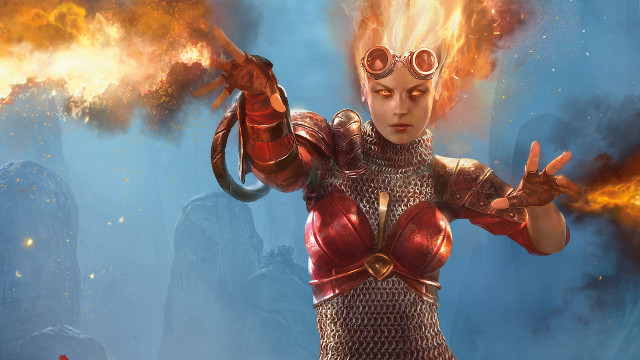 Magic: The Gathering Chandra Wizards of the Coast accused queerbaiting China