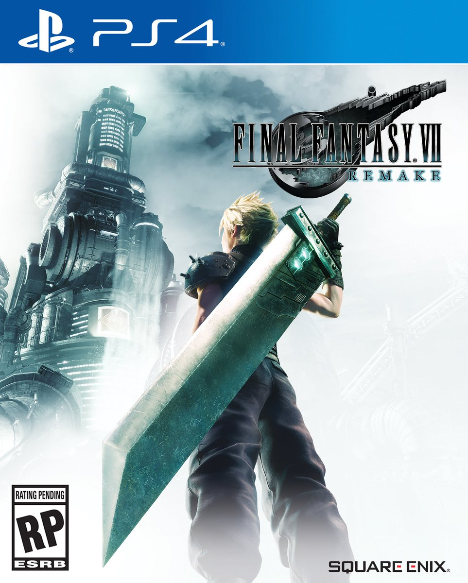 Box art - Final Fantasy 7 Remake
