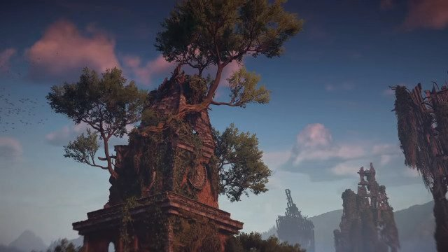 Horizon Zero Dawn PC trees