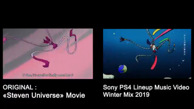 Sony PS4 alleged Steven Universe plagiarism