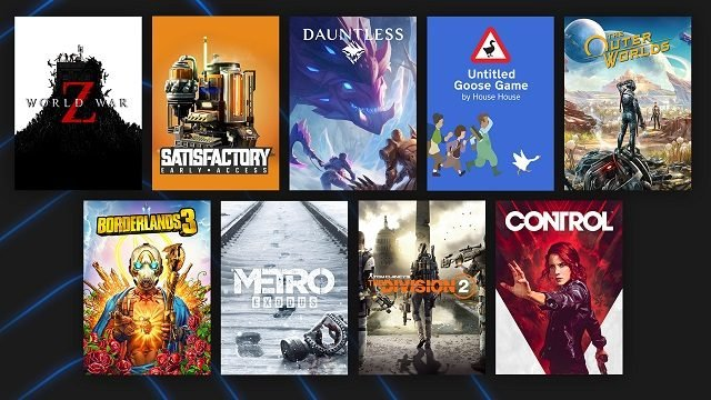 Epic Games Store 2020 Overview Popular Games