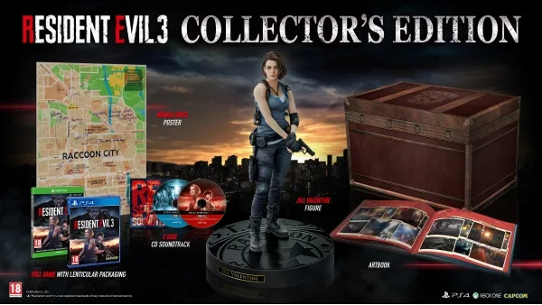 Resident Evil 3 Europe Collector's Edition