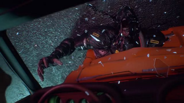 Resident Evil 3 remake Nemesis Trailer Nemmy hit by car