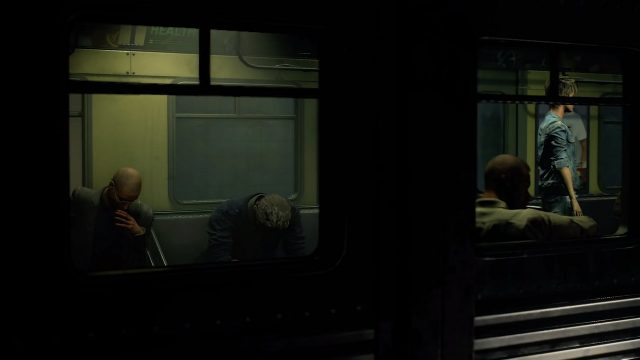 Resident Evil 3 remake Nemesis Trailer Subway Survivors