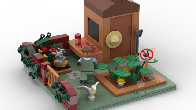 Untitled Goose Game LEGO set cover