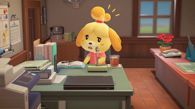 Animal Crossing: New Horizons DLC Isabelle