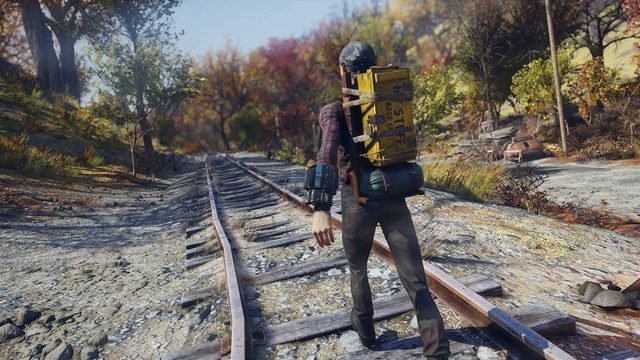 how to get a backpack in fallout 76