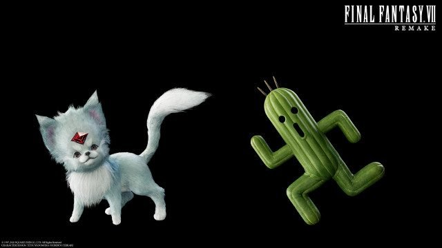 Final Fantasy 7 Remake Chocobo friendos