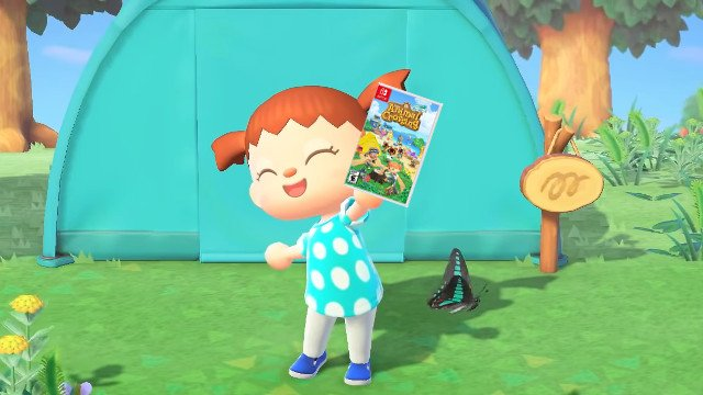Fake Animal Crossing giveaways