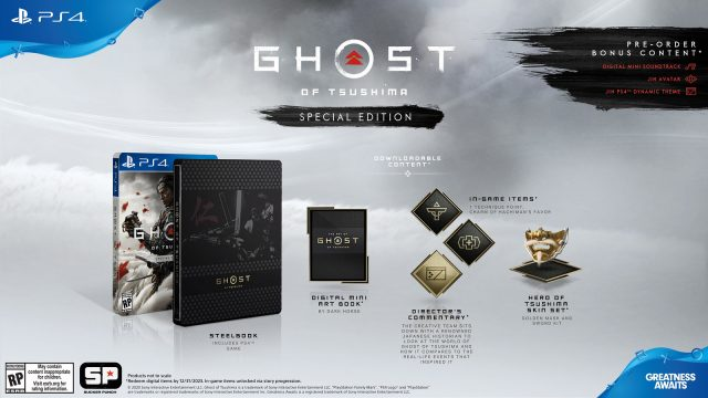 Ghost of Tsushima pre-order - Special Edition