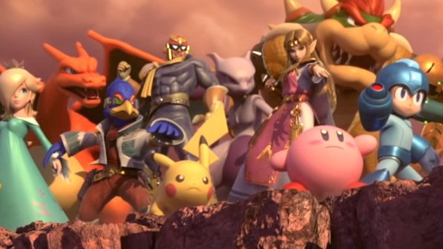 New Super Smash Bros. Ultimate fighters cover