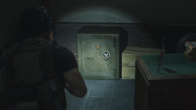 Resident Evil 3 Remake West office Safe Code