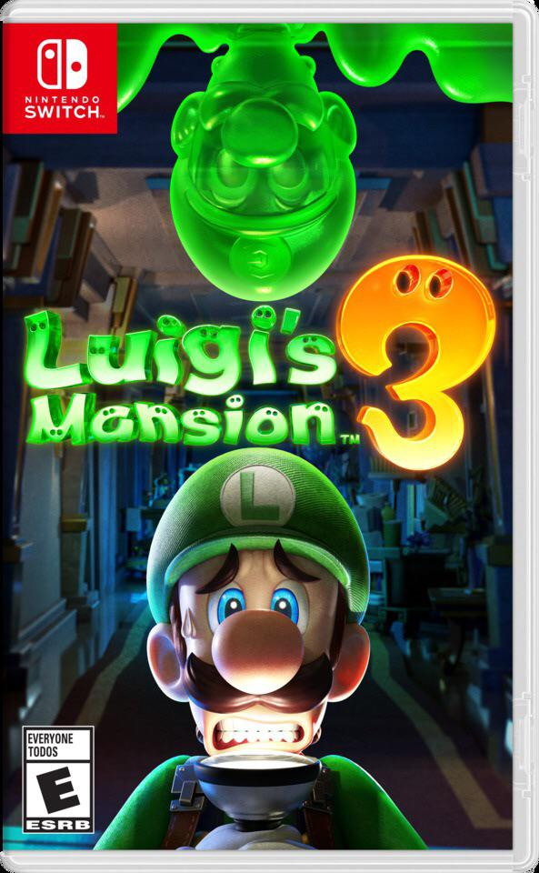 Box art - Luigi's Mansion 3