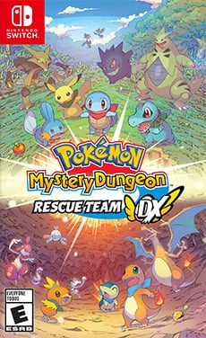 Box art - Pokemon Mystery Dungeon Rescue Team DX
