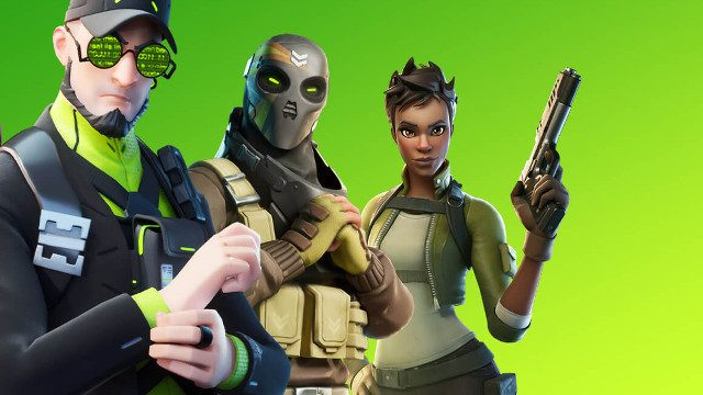 Fortnite Party Royale Hub Green