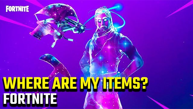Fortnite 'The following items have been removed from your account' error cosmetics gone