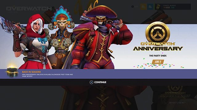 Overwatch Anniversary event 2020 release date, skins, and more