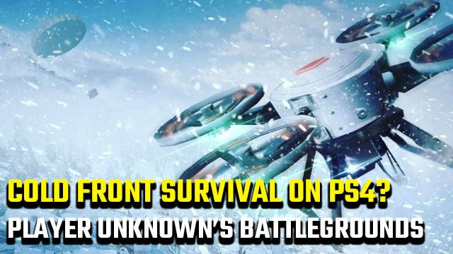 PUBG Cold Front Survival PS4