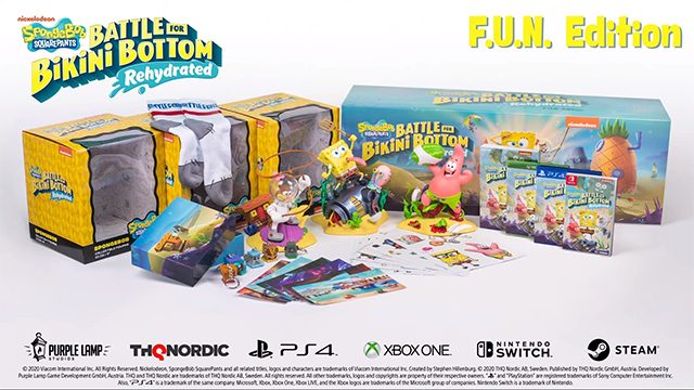 SpongeBob SquarePants: Battle for Bikini Bottom Rehydrated has a $300 version for some damn reason