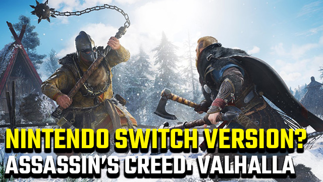 Assassin's Creed: Valhalla Nintendo Switch release date