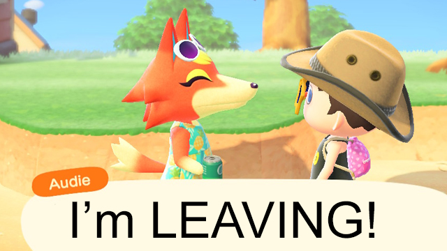 Can Villagers leave without asking in Animal Crossing: New Horizons
