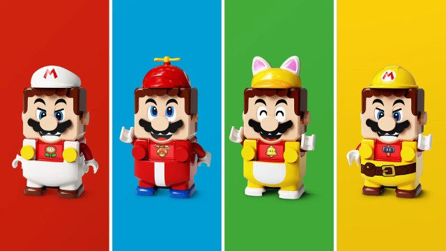 Lego Super Mario Power-Up Packs assortment