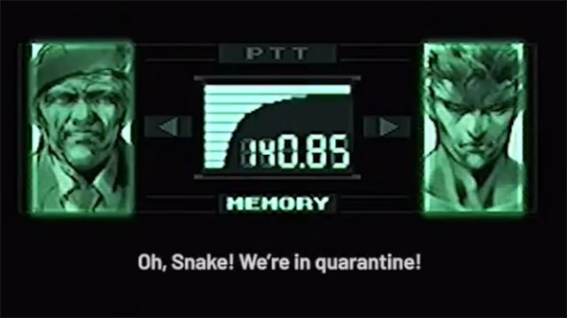 Metal Gear Solid cast reunites for a quarantined-themed codec call