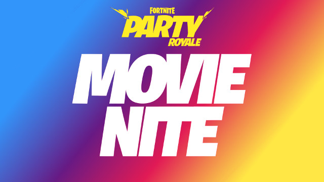 Fortnite Party Royale Movie Nite Christopher Nolan