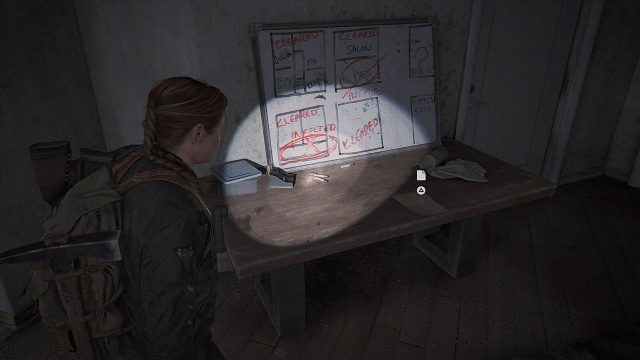 The Last of Us 2 Seattle Day 2 - Abby - Apartment Safe Code Location