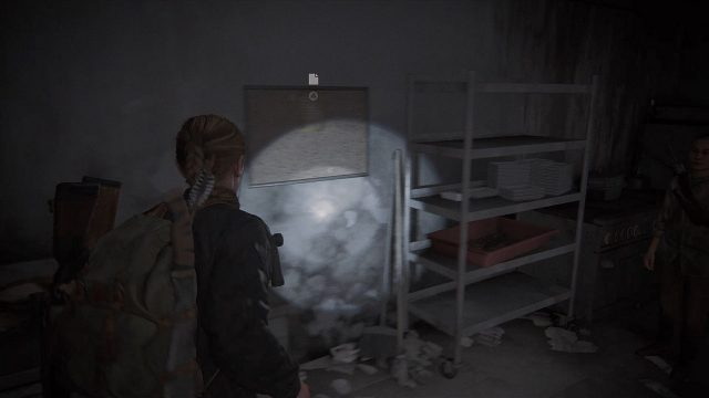 The Last of Us 2 Seattle Day 2 - Abby - Hotel Bloeray Safe Code Location 1