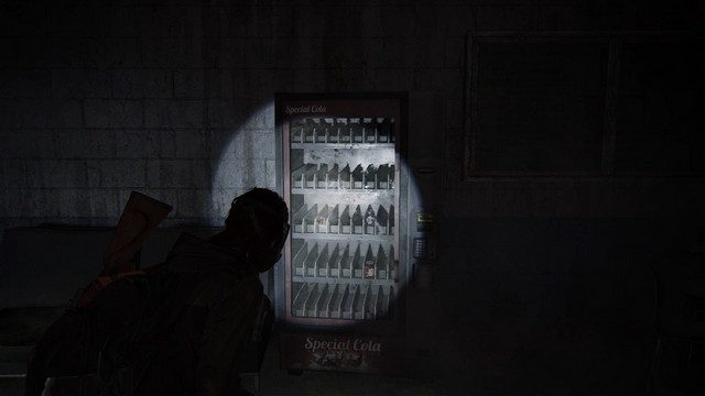 The Last of Us Subway Locked Door Code Soda Machine