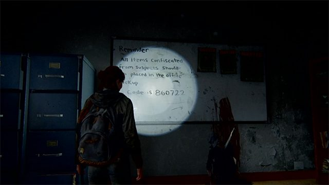 The Last of Us 2 courthouse safe code location