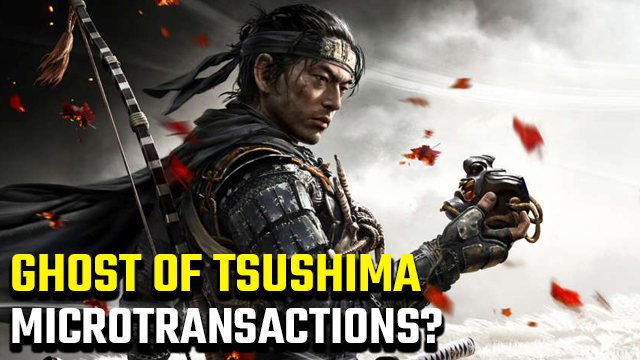 Does Ghost of Tsushima have microtransactions