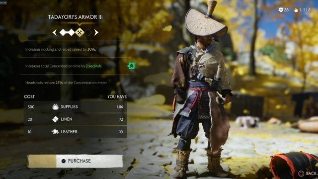 How to farm Supplies quickly inGhost of Tsushima
