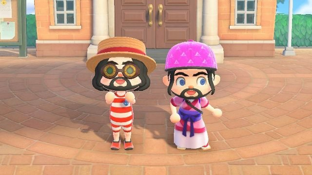 Is Animal Crossing 2 player? town square