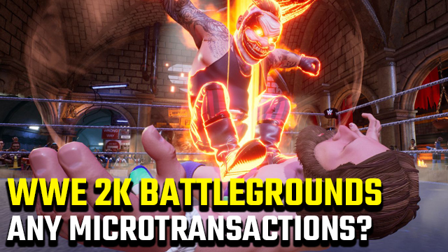 WWE 2K Battlegrounds microtransactions