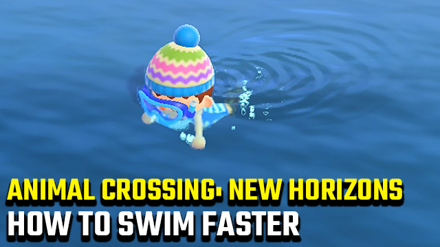 How to swim faster in Animal Crossing: New Horizons