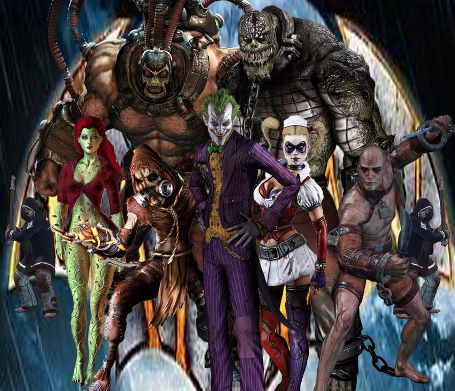 Just About Any Villain from Batman\'s Rogues Gallery