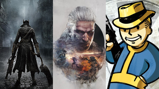 Bloodborne vs The Witcher 3 vs Fallout 4