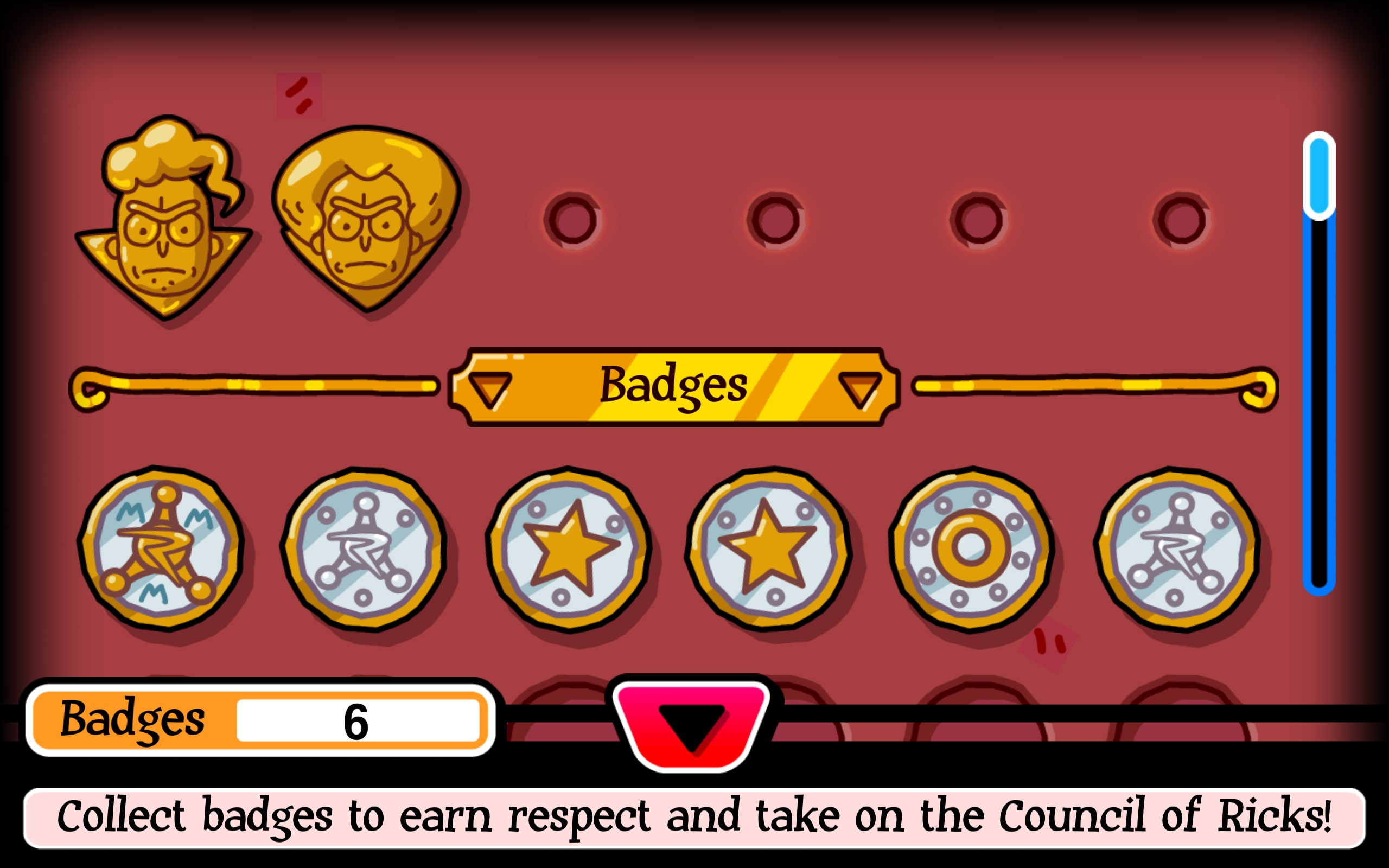 Badges Determine Difficulty